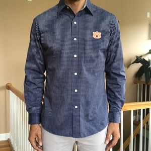 New Antigua Auburn University Button Up Shirt M